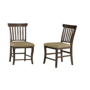 Darby Home Co Newry Solid Wood Dining Chair (Set of 2)