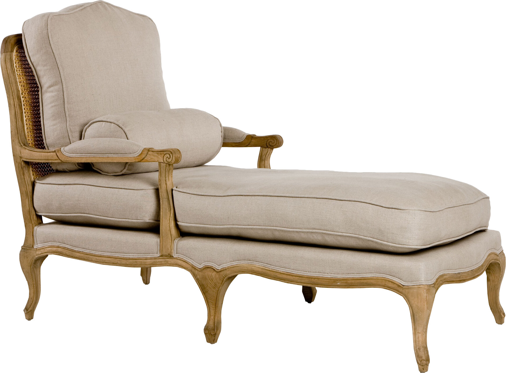 French Country Solid Wood Chaise Lounge Chairs You Ll Love In 2021 Wayfair