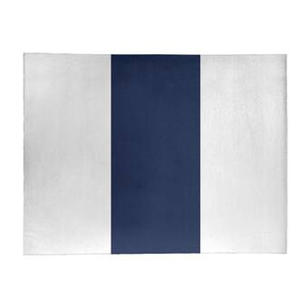 East Urban Home Striped White Gold Area Rug Wayfair