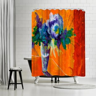 Sunshine Taylor Center Stage Single Shower Curtain