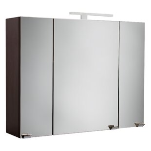 Wingil 90 X 62cm Surface Mount Mirror Cabinet By Wade Logan
