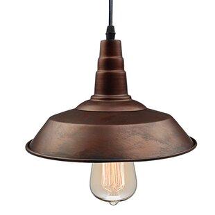 LNC Home 1-Light Dome Pendant