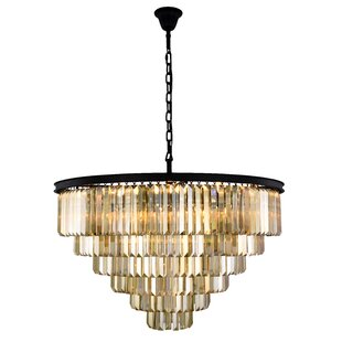 Whipton 33-Light Crystal Chandelier by Ev..