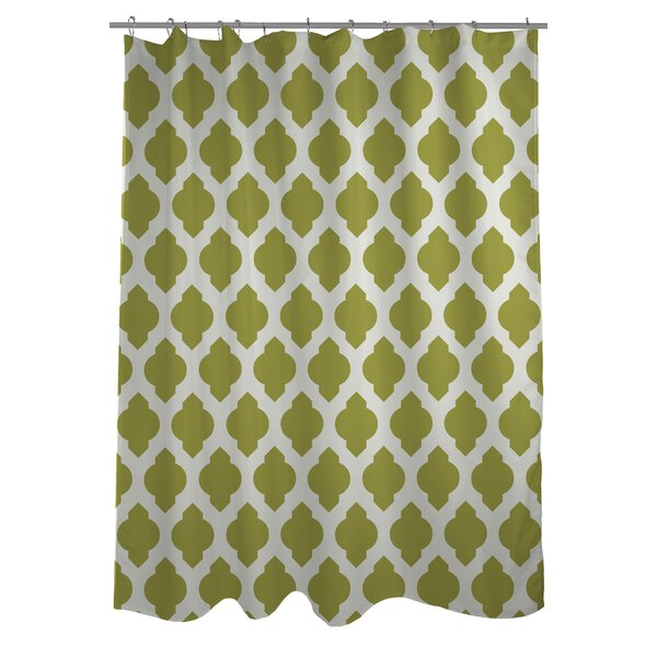 One Bella Casa All Over Moroccan Shower Curtain U0026 Reviews | Wayfair