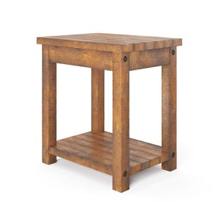 Rustic Usb Ports End Side Tables You Ll Love In 2021 Wayfair