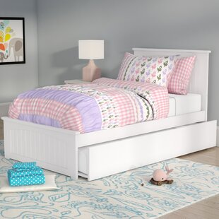 Online Reviews Bermuda Platform Bed with Trundle By Beachcrest Home