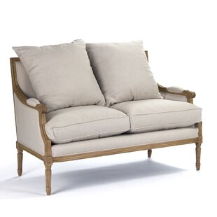 Best Choices Louis Loveseat by Zentique Reviews (2019) & Buyer's Guide
