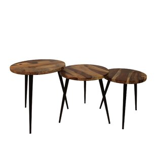 Cabral 3 Piece Coffee Table Set