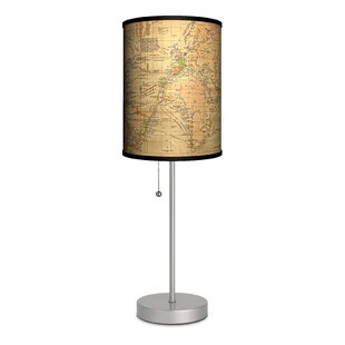Travel Old World Map 20 Table Lamp