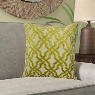 Kirkland Geometric Velvet Pillow