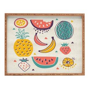 Tropical Fruit Plate Tray  sc 1 st  Wayfair & Decorative Fruit Plates | Wayfair