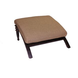 Corona Ottoman with Cushion by California Outdoor Designs