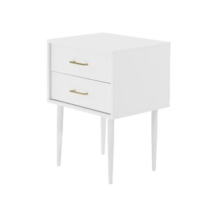 Side Table With Storage By Canora Grey