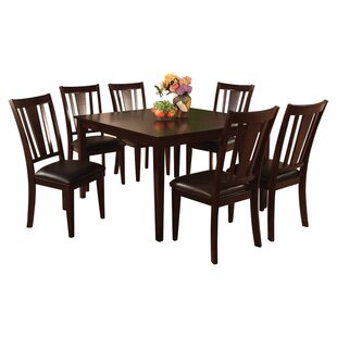 Rushford 7 Piece Dining Set by Darby Home Co