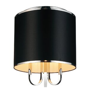 CWI Lighting Orchid 3-Light Flush Mount