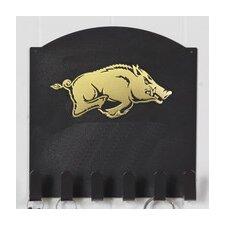 University of Collegiate Logo Key Holder Coat Rack by Henson Metal Works