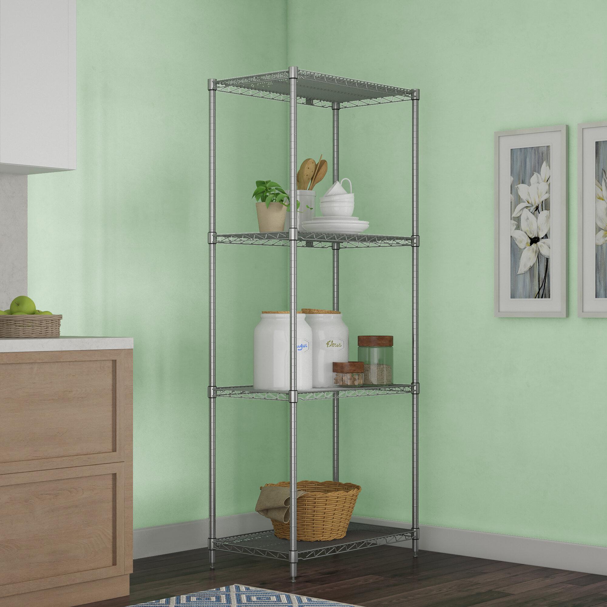 Nexel 4 Shelf Shelving Unit Starter