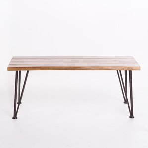 Guyapi Indoor Acacia Wood Coffee Table by Tr..