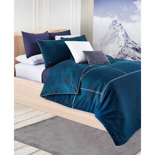 Chantaco Brushed Twill Reversible Comforter Set by Lacoste