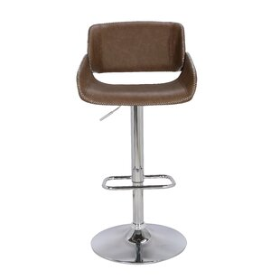 Inman Pneumatic Bucket Adjustable Height Swivel Bar Stool by Brayden Studio