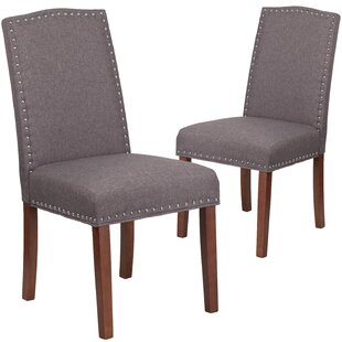 Charlton Home Orland Parsons Dining Chair (Set of 2)