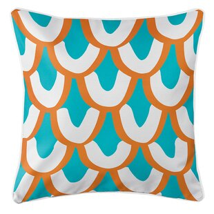 Tollette Mermaid Scales Throw Pillow