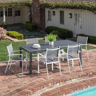 Latitude Run Ilya 7 Piece Patio Dining Set