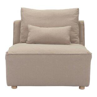 Trujillo Single Slipper Chair by Latitude Run