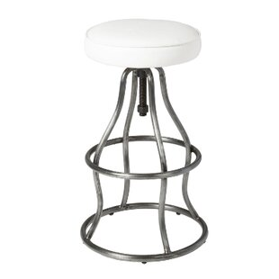 Oavia Adjustable Height Bar Stool Orren Ellis