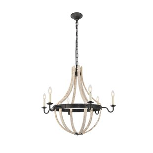 Gracie Oaks Karteek 6-Light Empire Chandelier