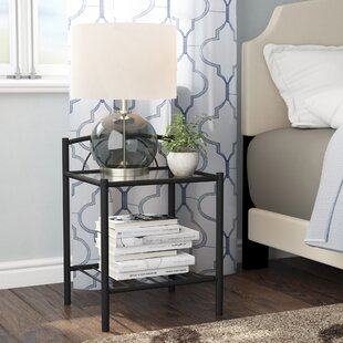 Zeno Bedside Table By Marlow Home Co.