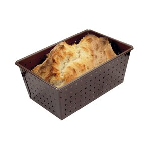 Non-Stick Perforated Loaf Pan
