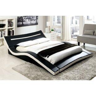 A&J Homes Studio Zibo Upholstered Platform Bed