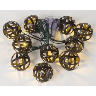 12.79 ft. 10-Light Globe String Light by Winsome House