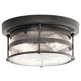 Cowart 2-Light Outdoor Flush Mount
