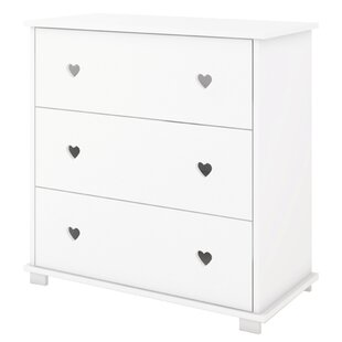 Kauffman 3 Drawer Chest By Isabelle & Max