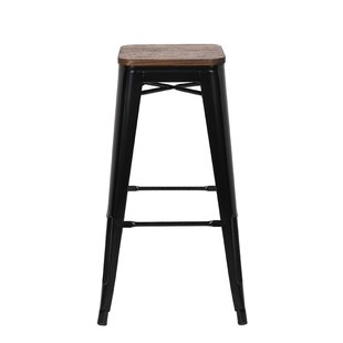 Oliver 76cm Bar Stool By Borough Wharf
