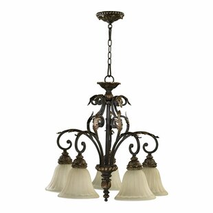 Ancram 5-Light Shaded Chandelier by Astoria Grand