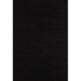 Find Pera Cozy Contemporary Soft Black Area Rug By Wildon Home ®