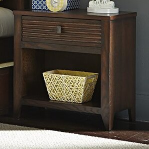 Great Price Cameron 1 Drawer Nightstand by My Home Furnishings Reviews (2019) & Buyer's Guide