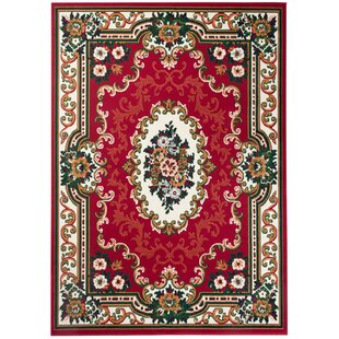 Baldon Red Rug by Rosalind Wheeler