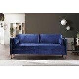 Eastvale Velvet 73.3 Square Arm Sofa by Mercer41