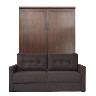 Delapaz Queen Upholstered Murphy Bed by Brayden Studio