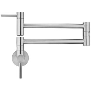 Review Andorra Wall Mount Pull Out Pot Filler by Geyser