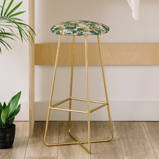 Marta Barragan Camarasa Tropical Bloom 31 Bar Stool