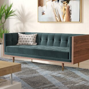 Lancaster Chesterfield Loveseat by Comm Office