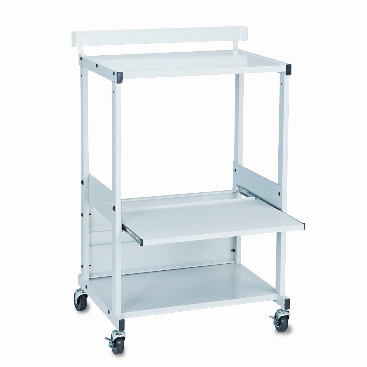 Balt BALT® Max Stax Dual Purpose Mobile Printer Stand with 3 Shelves ...