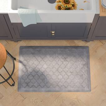 Alcott Hill Kimberlin Bella Premium Scalloped Anti Fatigue Mat Reviews Wayfair