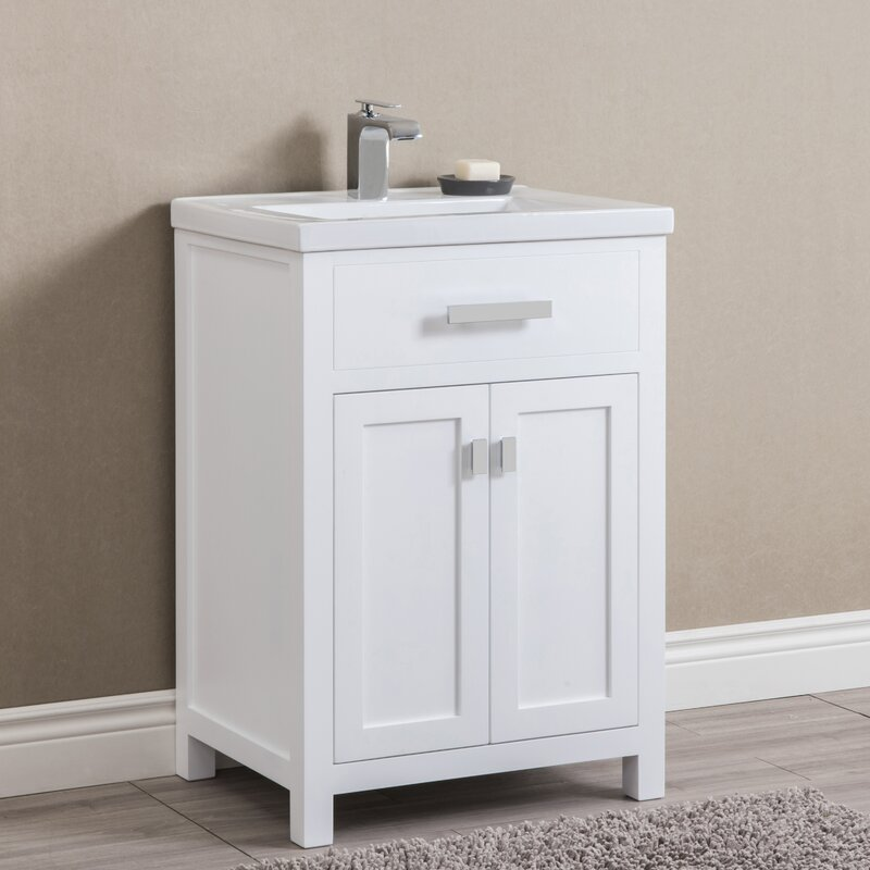 Zipcode Design Knighten 24 Single Bathroom Vanity Set Reviews