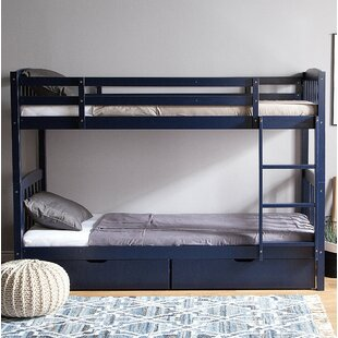 Erwin European Single Bunk Bed By Harriet Bee